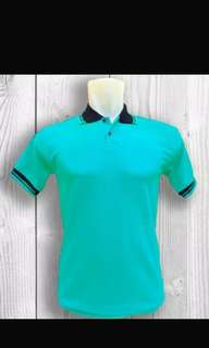 GROSIR Baju Kaos Polo Shirt Lis 2 (polos)