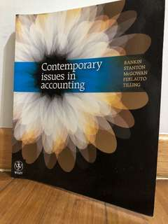 Contemporary issues in account
