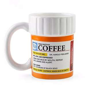 Creative Prescription Coffee Mug for the Caffeine Lover