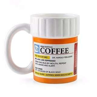 Creative Prescription Coffee Mug for the Caffeine Lover
