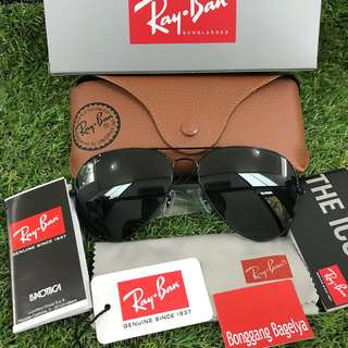 Authentic Rayban Shades size 58