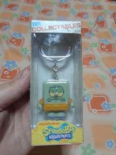 Squidward keychain