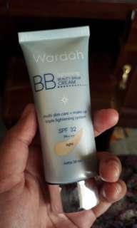 preloved bb cream wardah kondisi 90%