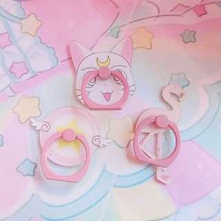 日系卡通手指扣環