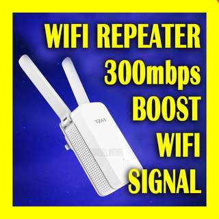 300Mbps Router Range Extender WiFi Repeater Signal Amplifier