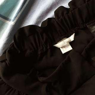 H&M High Waisted Shorts (Black)