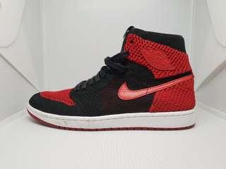 Jordan 1 breds flyknit