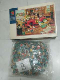 Puzzle real disney 4000pcs with wood frame