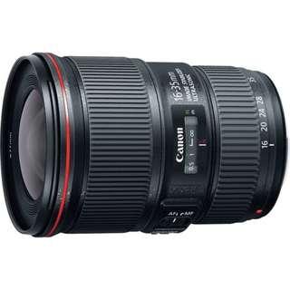 🛒Canon EF 16-35mm F4L IS USM Lens