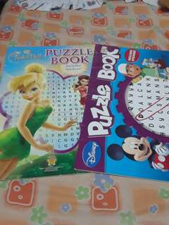 Puzzle book as pack