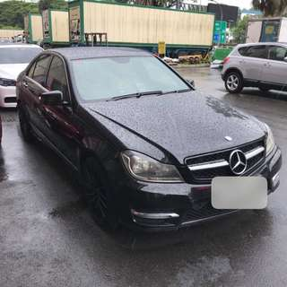 Merc C180 CGI for rent. 3-6mths