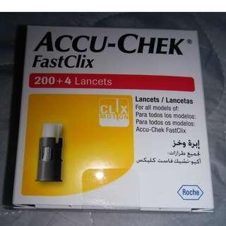 Accu-Chek FastClix Lancets 23 pieces