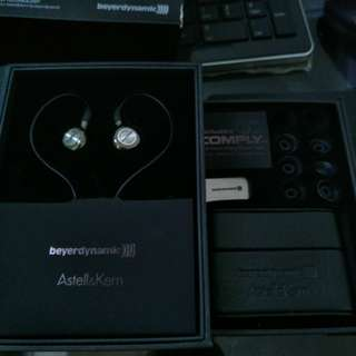 Astell&Kern Beyerdynamic ak t8ie In ear monitor 送升級線levin c501m