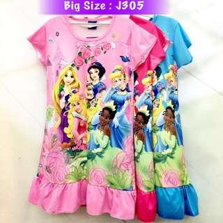 Buy 3 @ RM33 ❤Bargain Sale❤ Princess Jersey Dress J305