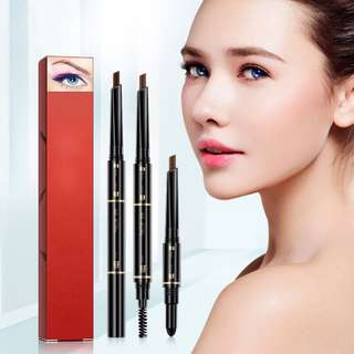 🦋3 in 1 Air Cushion Triad Eyebrow Pencil With Brush🦋