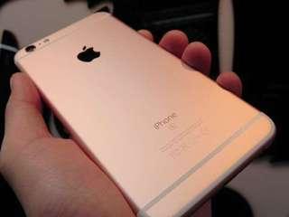 Iphone6splus 128gb玫瑰金