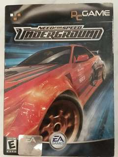 Need for speed underground (Pc Games)