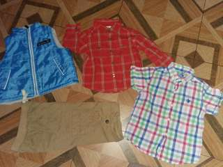 Take all branded clothes 1-2T