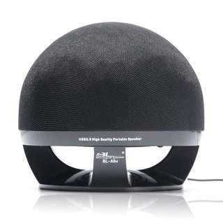 1264. WESDAR PC Speakers USB 2.0 Wired Ball Shape Single