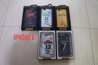 🏀現貨清出🏀NBA BASKETBALL AND SOCCER TEAM IPHONE CASE ON SALE 足球籃球IPHONE手機殼