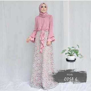 Cosa maxy Dress