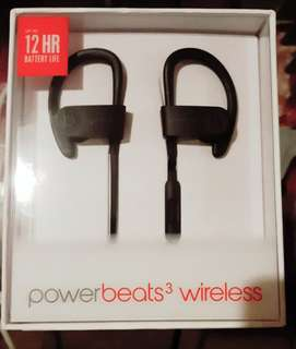 Beats Powerbeats 3 Wireless Earphones (Black)