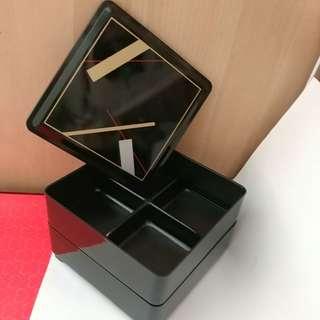 日本風味#美觀餐盒(硬膠造) 清況容易
