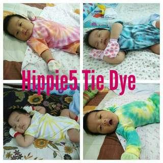 Tie Dye Baby Rompers
