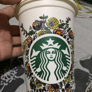 Starbucks reusable