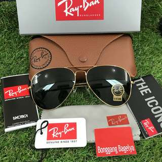 Authentic Rayban Shades size 62