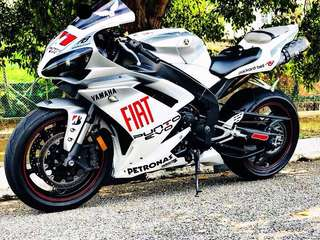 2008 R1 🇲🇾 Can Change Ownership. Excellent Condition‼️ Airbrush Fiat . Done Valve Clearance‼️ Engine Smooth. Like New ‼️ Read Description Below For Details 😊