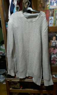 COS knotted Grey Sweater