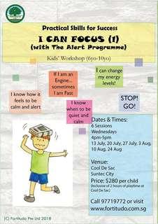 I Can Focus Workshop