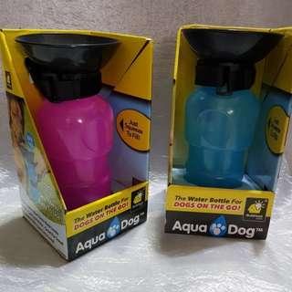 Aqua pet portable drinking bottle