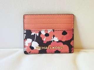 MICHAEL KORS Card Holder - Pink Floral