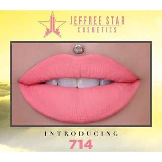 [CLEARANCE] Authentic BNIB Jeffree Star Velour Liquid Lipstick in (714)