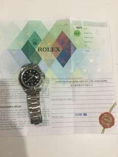 Rolex explorers
