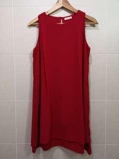 P&Co red dress