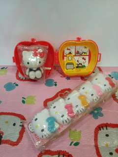 Kitty clip & toy set