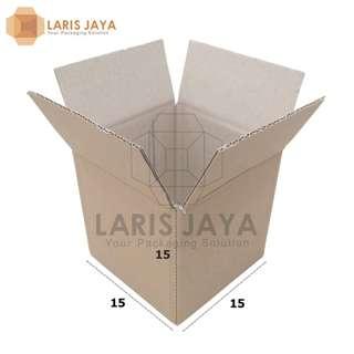 Kardus / Box Aksesoris Mini Regular 15 X 15 X 15 cm