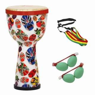 """African Hand Drum (8""""): Beijing Opera"""