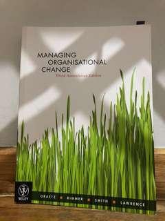 Managing Organisational Change 3rd Edition