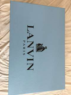 Lanvin 超大盒58x38x20