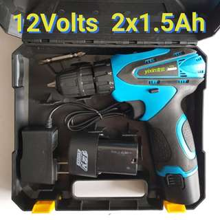 Brand New 12Volts Double Speed Cordless Drill