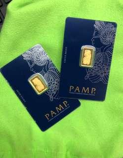 PAMP - 2.5g (gold bar) ❤️❤️