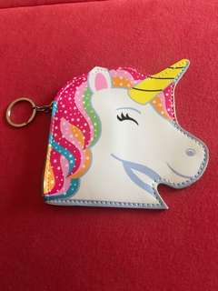 (Pre-order) Unicorn coin purse keychain