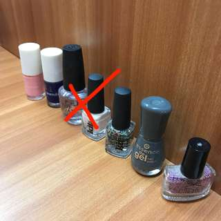 Preloved Nail Colours