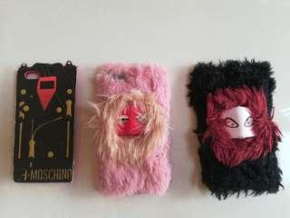 Iphone 5s case Fendi Fur Monster Moschino