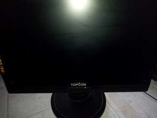 Topcon 電腦屏幕 19吋