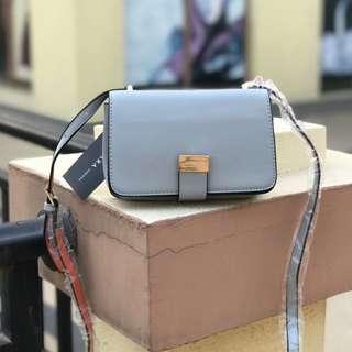 Zara Flapover Crossbody Bag